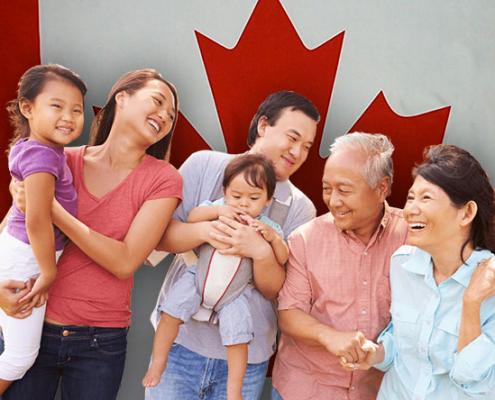 دریافت اقامت خانوادگی کانادا
